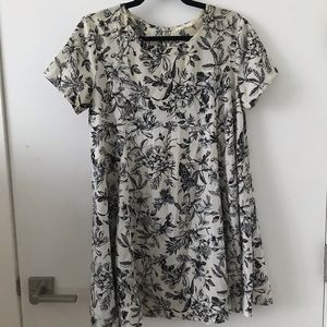 LUSH floral botanical print dress from Nordstrom